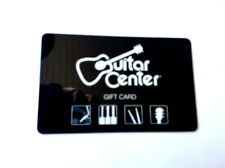 GUITAR CENTER COLLECTIBLE GIFT CARD NO VALUE RECHARGEABLE !