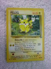 Carte pokémon pikachu 60/64 commune jungle wizard