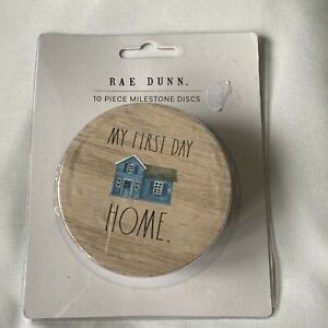 Rae Dunn 10 Piece Milestone Discs My Firsts Holiday