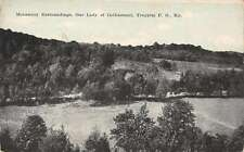 Trappist PO Kentucky aerial view Our Lady of Gethsemani antique pc Z29983