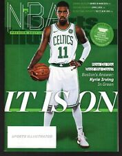 2017 Sports Illustrated Boston Celtics Kyrie Irving Subscription Issue NR/Mint