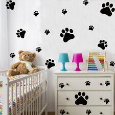 Dog Footprint Wall Sticker Art Nursery Decals Kids Room Home Decor 38x28cm