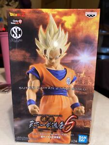Bandai Son Goku Super Saiyan 2 Dragon Ball Z Banpresto Statue Gamestop Exclusive