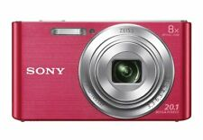 SONY DSC-W830 DSCW830 Digital Camera 20.1MP 8x Optical Zoom Videos HD 720p NEW
