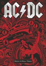 AC/DC Fahne Flagge Rock n Roll Train Posterfahne Posterflagge Textilposter Flag