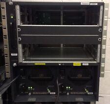 Cisco WS-C6506-E V04 Chase, WS-C6506-E-FAN & 2 x WS-CAC-3000W V02 PSU
