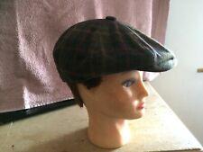 Men's Baker Boy Cap Hat    Size 7 3/8  By Hawkins