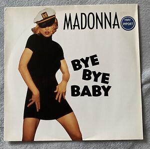 """Madonna 12"""" Bye Bye Baby Vinyl Import Rare Vinyl"""