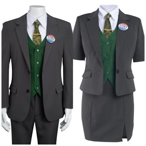 School Boys Girls Uniform Loki Cosplay Costume Outfit Full Set Halloween suit