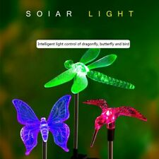 Butterfly Colour Changing Decorative Solar LED Light Outdoor Garden Patio Lawn