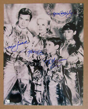 Lost In Space Cast Autographed Signed Photo Mumy Goddard Kristen Cartwright