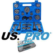 US PRO Tools 22pc Universal Brake Piston Caliper Wind Back Tool Kit NEW 6216