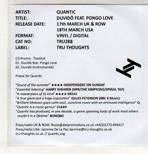 (EP436) Quantic, Duvido ft Pongo Love - 2014 DJ CD