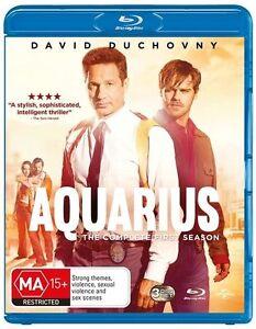 Aquarius Season 1 ONE (Blu ray 3-Disc Set) David Duchovny