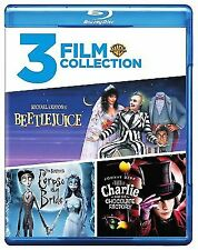 Beetlejuice / Charlie and the Chocolate Factory / Corpse Bride Triple Feature