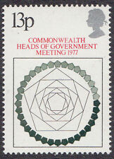 GB MNH STAMP SET 1977 Commonwealth Heads of Government SG 1038 UMM