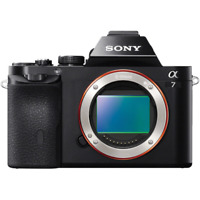 A - Sony Alpha A7 Full Frame Digital Camera Body