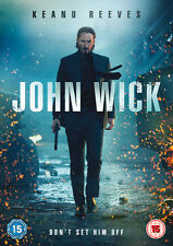 John Wick Part 1 DVD Keanu Reeves Original UK Release Region 2 R2