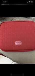 Michael Kors red table case cover