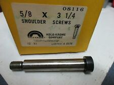 5/8-13 X 3-1/4 SHOULDER SCREWS 4 PCS HOLO-KROME 08116 (LL3080)