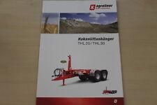 158823) Kröger Agroliner Hakenliftanhänger Prospekt 11/2013