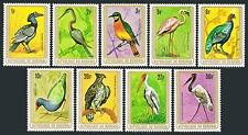 Burundi 548-556,MNH.Michel 1448-1496. Birds 1979.Hornbill,Flamingo,Eagle,Ibis,