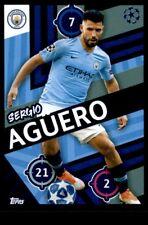 Topps Champions League 2018/19 - Sergio Aguero Manchester City FC No. 158