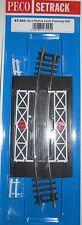 Peco Setrack No 3 Radius Level Crossing ST-263