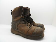 Dakota Men's 8'' X-Toe Quad Comfort Steel Toe Composite Plate Work Boots Size 9M