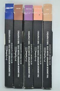 MAC Pro Longwear Waterproof Colour Stick BNIB 1.4g/0.049oz. ~choose shade~