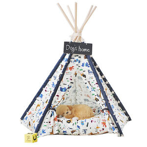 Free Love@Animal print Pet Kennels Pet Play House Dog Play Tent Cat /Dog House