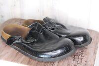 Birkenstock Betula 8 Black Slides Leather Women's Shoes