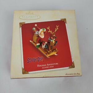 Hallmark Keepsake Holiday Adventure Scooby-Doo Christmas Ornament 2003