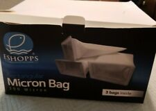 Eshopps Rectangular 300 Micron Bag Package 3 Pack For All Sumps