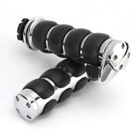 "1"" Handle Bar Hand Grips For Honda Shadow Aero Phantom VLX VT750 VT600 VT1100"