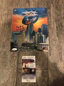 MIKE WEBSTER SIGNED SUPER BOWL XIV GAME PROGRAM PITTSBURGH STEELERS JSA COA HOF