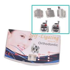 "Orthodontic Dental Active Self-Ligating Brackets MBT 0.022"" Hook 345 with Tool"