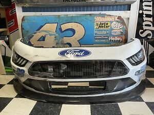 Chase Briscoe 2020 High Point Mustang Cobra Nascar Race Used Sheetmetal Nose