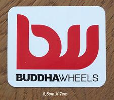 Buddha Wheels Skateboard Longboard Sticker Aufkleber (S21)