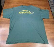 Packers Football XL NFL Team Apparel Green T-Shirt Short Sleeve Men's Shirt