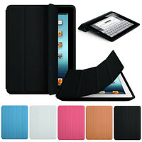Luxury Slim Stand Smart Case Leather Back Cover For Apple iPad 2 3 4 Hot Stylish