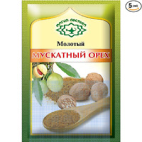 Magia Vostoka Seasoning Nutmeg Ground 10g x 5pack Магия Востока Мускатный орех