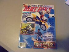 AUGUST 1988 DIRT BIKE MAGAZINE,YAMAHA TDR250 DUAL,4 STROKE SHOOTOUT,MICHIGAN ISD