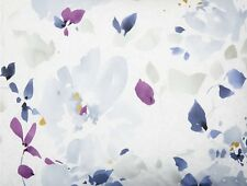 Calvin Klein Watercolor Peonies Queen Duvet Cover, Contemporary,100% Cotton, NIP