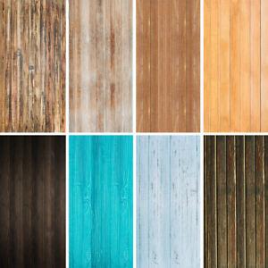 Retro Wood Plank Vinyl Backdrop Cloth Photography Background Studio Photo Prop