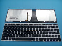 For Lenovo Z50-70 Z50-75 Z70 Z70-80 G70 G70-80 English Keyboard Backlit Silver