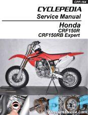 Honda CRF150R CRF150RB Expert Cyclepedia Printed Motorcycle Service Manual