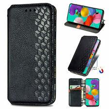 Funda con tapa de cuero p/ Samsung Galaxy A51 A71 A41 A31 A21 A70 A40 A30S A20