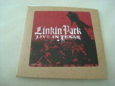 LINKIN PARK 2-Track Promo CD Live in Texas /w Faint & One Step Closer