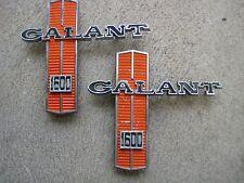 Chrysler Galant 1600 Guard Badges x 2
